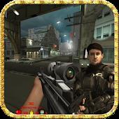 Striker gunner in city