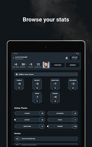 D&D Beyond Player Tools screenshot 11