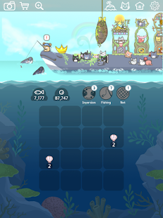 2048 Kitty Cat Island Screenshot