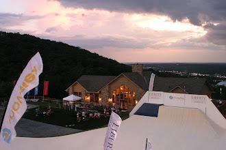 Photo: sunset at Liberty Mountain Lodge