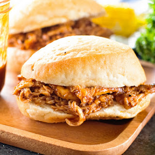 Pulled Grilled Chicken Sandwiches Recipe