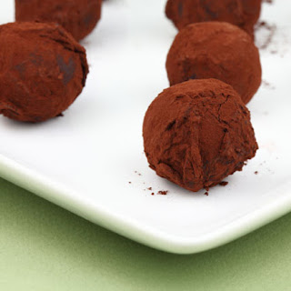 Rose Water Truffles.