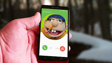 fake call from jeffy puppet 1 0 latest apk download for Android