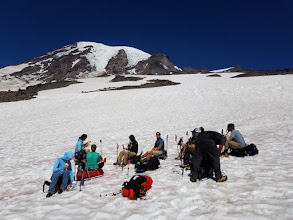 Photo: Break on the Snowfield