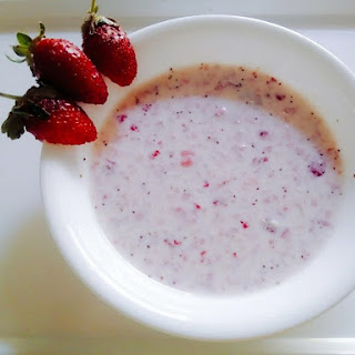 Strawberry Rabdi.