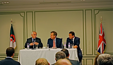 Photo: UKABC Pre-trade Mission Conference in London With a presence of the algerian ambassador to the UK and Lord Risby and Zak Osmani