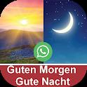 Guten Morgen Gute Nacht für WhatsApp icon