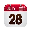 Calendar w/ Lunar Phases
