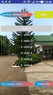 GRENADE violin - náhled