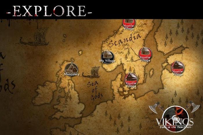Vikings Fury of the Northmen v1.8 (2016) Full APK Games 4