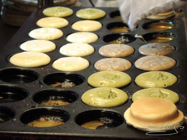 源本屋日式車輪餅~城市中的日式小舖 ~ 新奇口味Oreo/抹茶/起司~與台灣脆皮紅豆餅不同的口感
