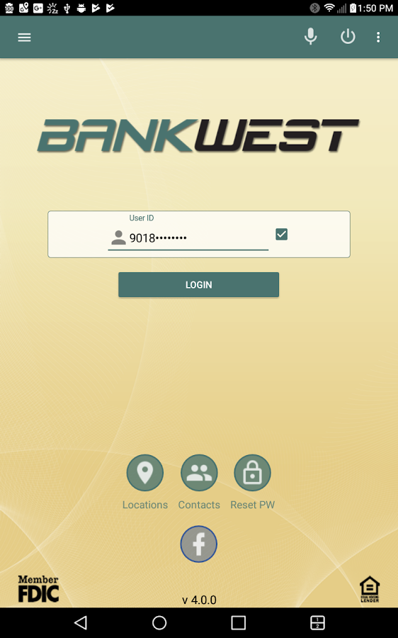 BANKWEST Mobile Banking- screenshot
