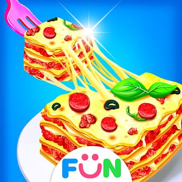 Cheese Lasagna Cooking -Italian Cooking Pasta