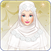 Hijab Wedding Dress Up