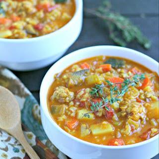 Mostly Veggie Soup
