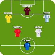 Football Squad Builder: Create Lineup and Tactic