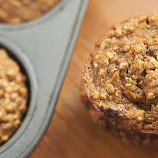 Carrot Raisin Oatmeal Muffins