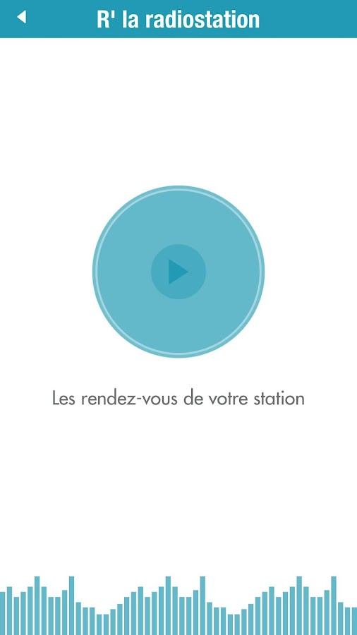 R' Radiostation – Capture d'écran