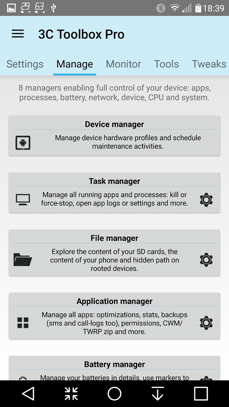 3C Toolbox Pro Screenshot 0