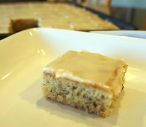 Sour Cream Banana Bars Recipe