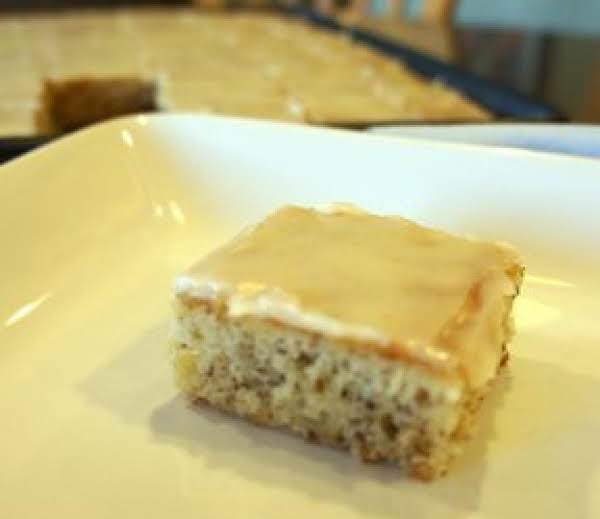 Sour Cream Banana Bars