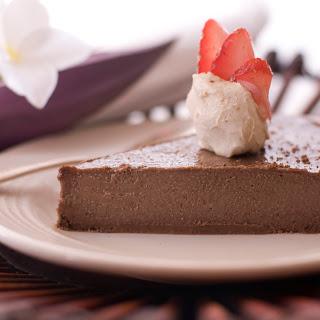 Raspberry Chocolate Mousse Pie.