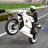 Police Bike City Driving Android APK Download Free By Game Pickle
