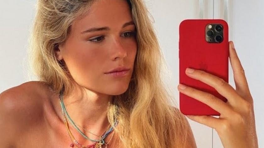 Ana Soria ya ejerce de \'influencer\' y promociona uno de los negocios familiares.