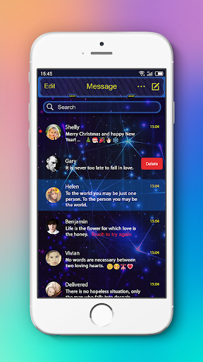 Messenger L SMS, MMS 7.46 screenshots 7