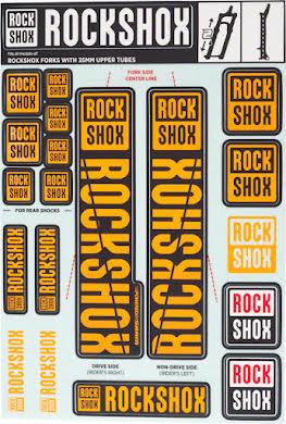 RockShox Decal Kit, 35mm alternate image 5