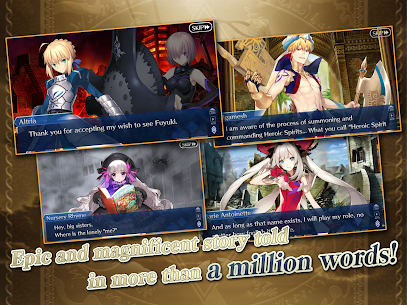 Fate/Grand Order MOD APK [Instant Win/Damage] 8