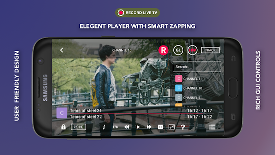 GSE SMART IPTV Capture d'écran