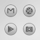 Bubble Gum Gray Icons APK
