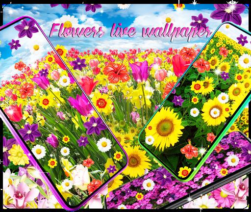 Flowers live wallpaper 101 screenshots 1