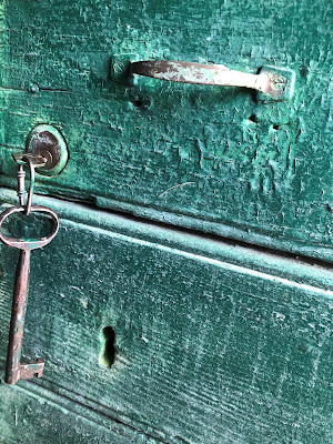 Porta verde di emanuela_dolci