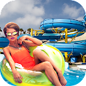 Waterpark Xtreme Ride Sim 2016 icon