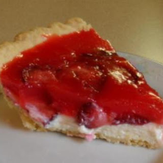 Strawberry Cream Cheese Pie.