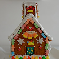 Gingerbread house di