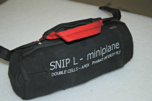 Miniplane Snip front mounted rescue chute complete