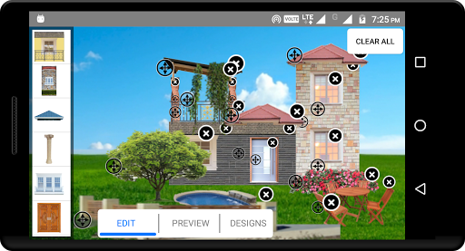 create home - exterior design and color selection screenshot 1