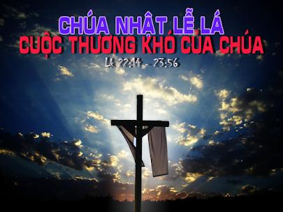 TLO: Chúa nhật  Lễ Lá năm C