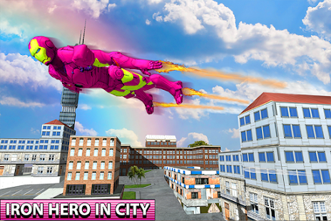 Flying Iron Hero City Survival - náhled