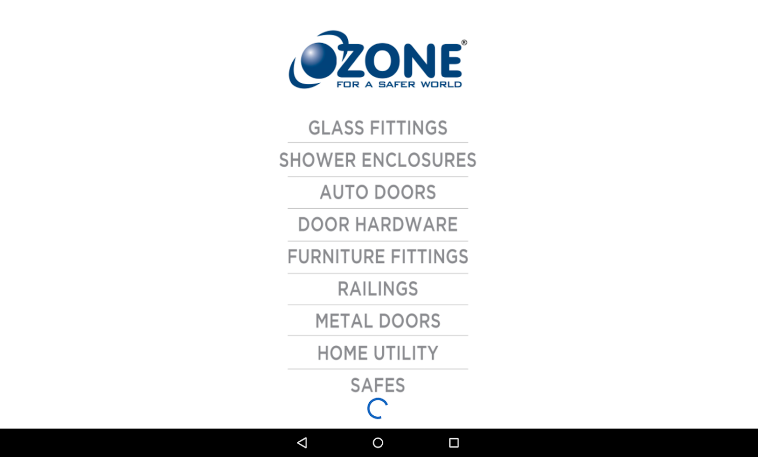 Ozone India -For a Safer World- screenshot