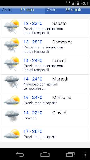 Meteo Italia screenshot 2