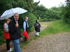 Photo: Ved det nedlagte trinbræt ved Banevolden