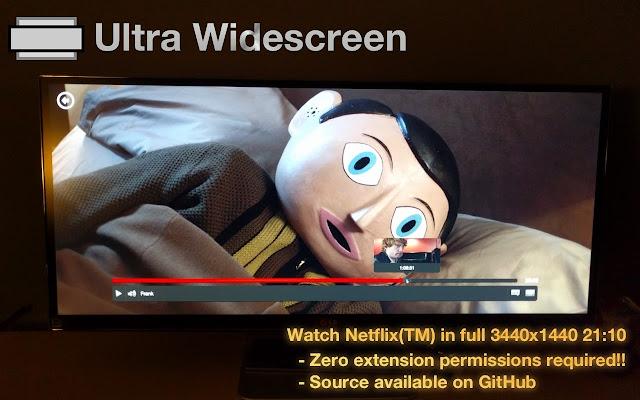 Netflix Ultra Widescreen