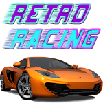 Retro Racing Icon