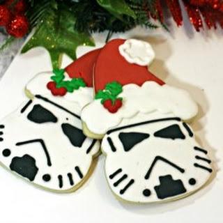 Santa Storm Trooper Cookies
