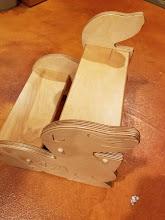 Photo: Seal step stool Pop pops furniture Popsfurnitureco.com