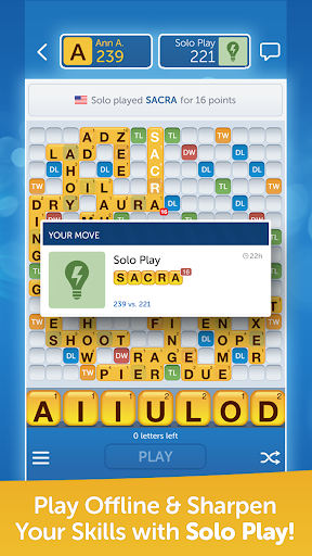 Words With Friends Free  screenshot 4